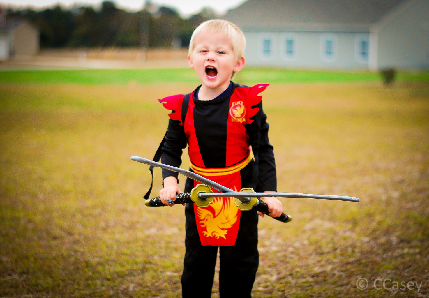 Toddler Halloween Costume Ninja