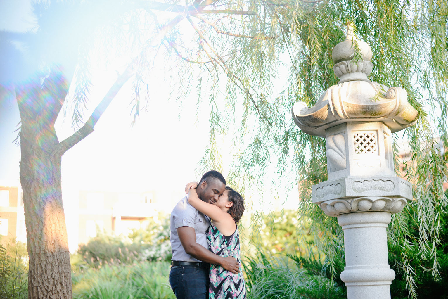 Engagement Session at The Pagoda Gardens in Norfolk Virginia Wedding and Portrait Photographer in Virginia Prism Photographers