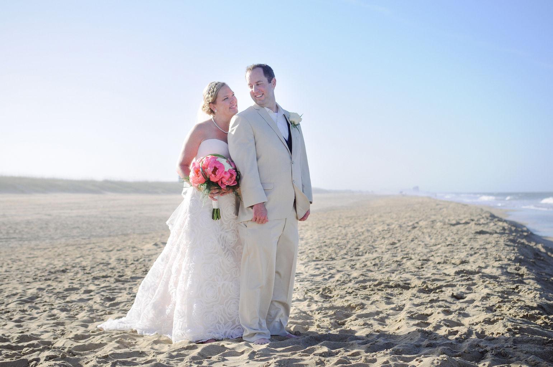 Dam neck beach wedding