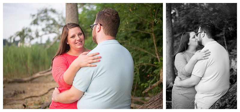 Couple Portraits at Sleepy Hole Park in Suffolk Virginia Hampton Roads Portrait Photographer