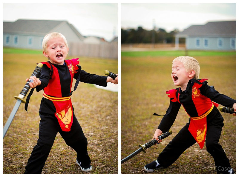 Halloween Costume for Toddler Ninja
