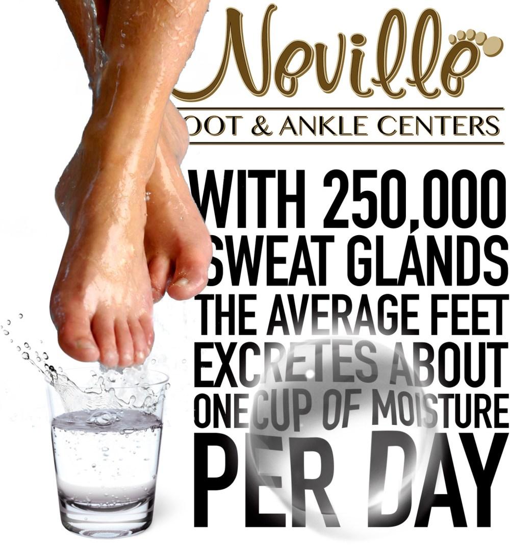 medium resolution of feet sweat