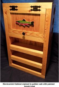 Fly Rod & Reel Storage Cabinets for Fly Fishing