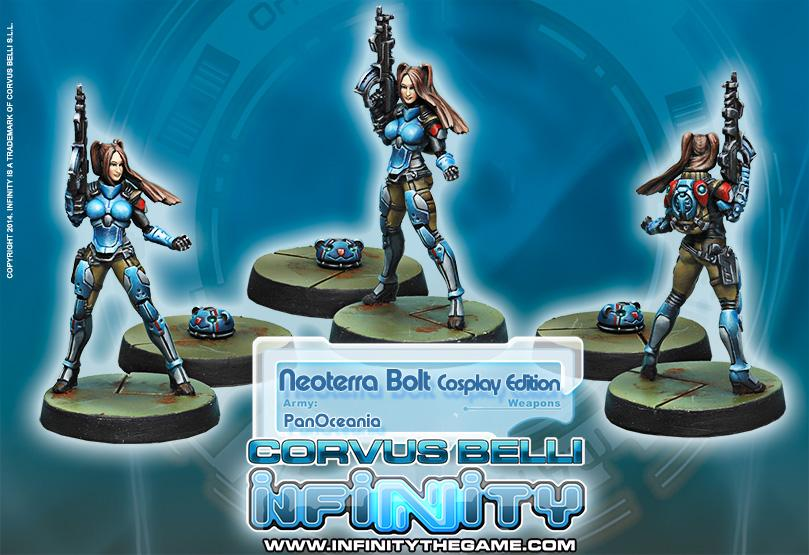 Neoterra Bolt, Cosplay Edition miniature