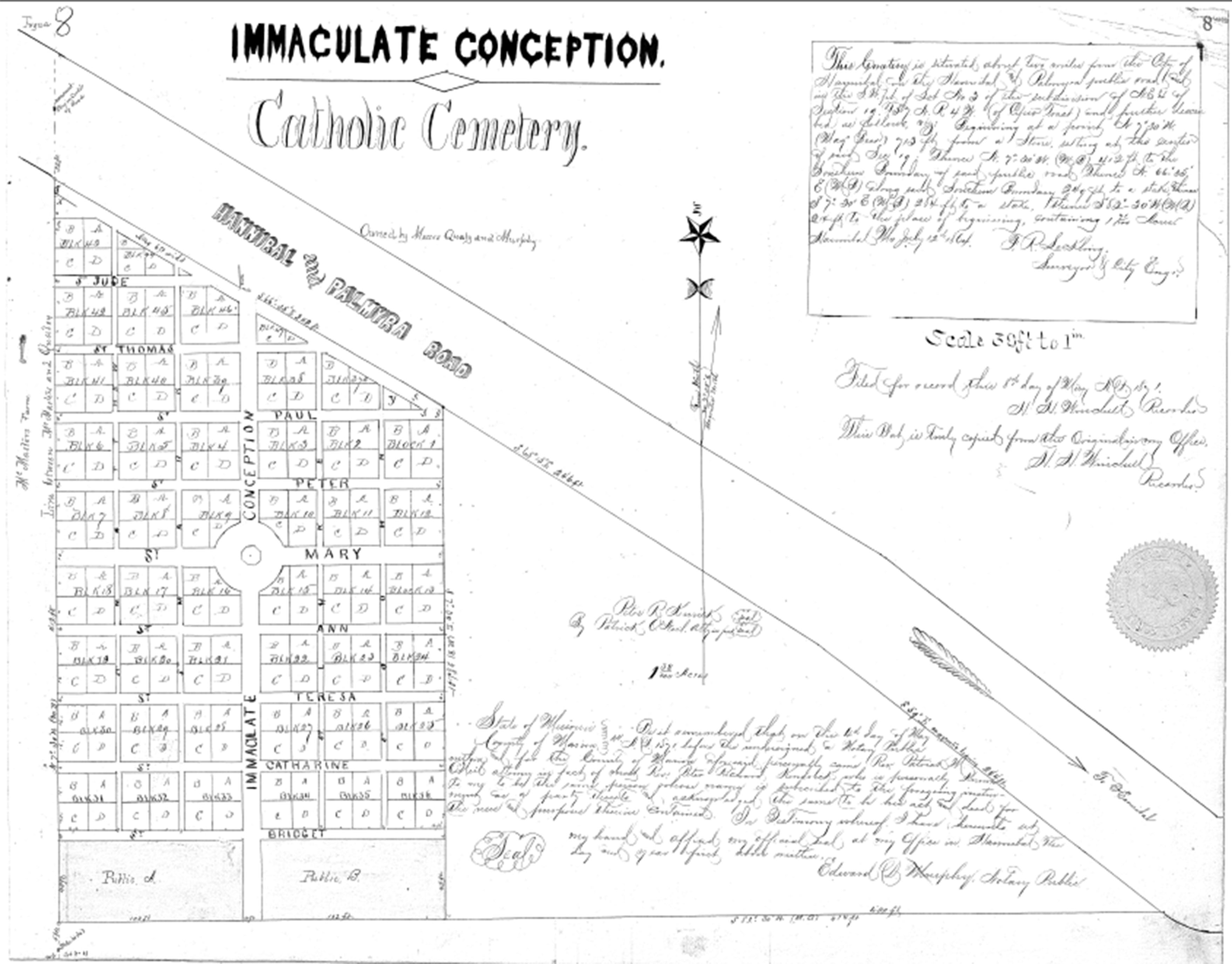 Irish settlers rest upon the land they deeded for cemetery use maryloumontgomery