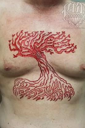 Scarification Tattoo Near Me : scarification, tattoo, Scarification, Tattoo, Elegant