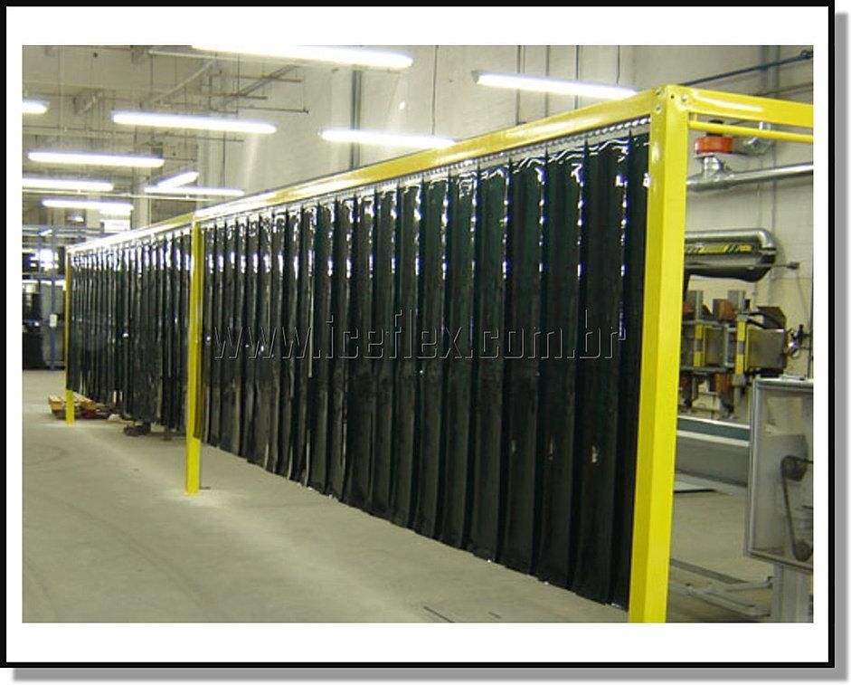 IceFlex  Cortinas de PVC em Tiras
