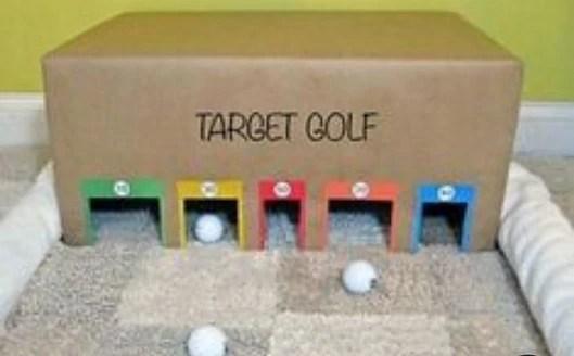 Δραστηριότητα στο σπίτι: Μίνι γκολφ!