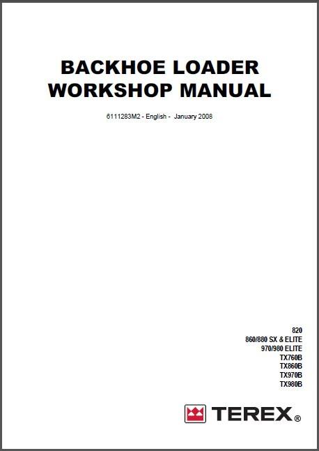 terex , terex Workshop Service Manuals