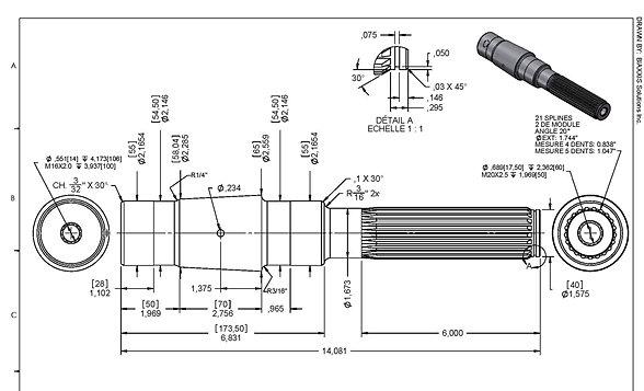 Services dessin 3D et conception mécanique