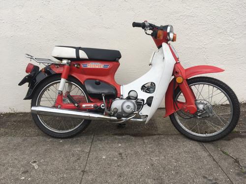 2 of 93 rear seat. 1981 Honda Passport C70   Sabatino Mopeds