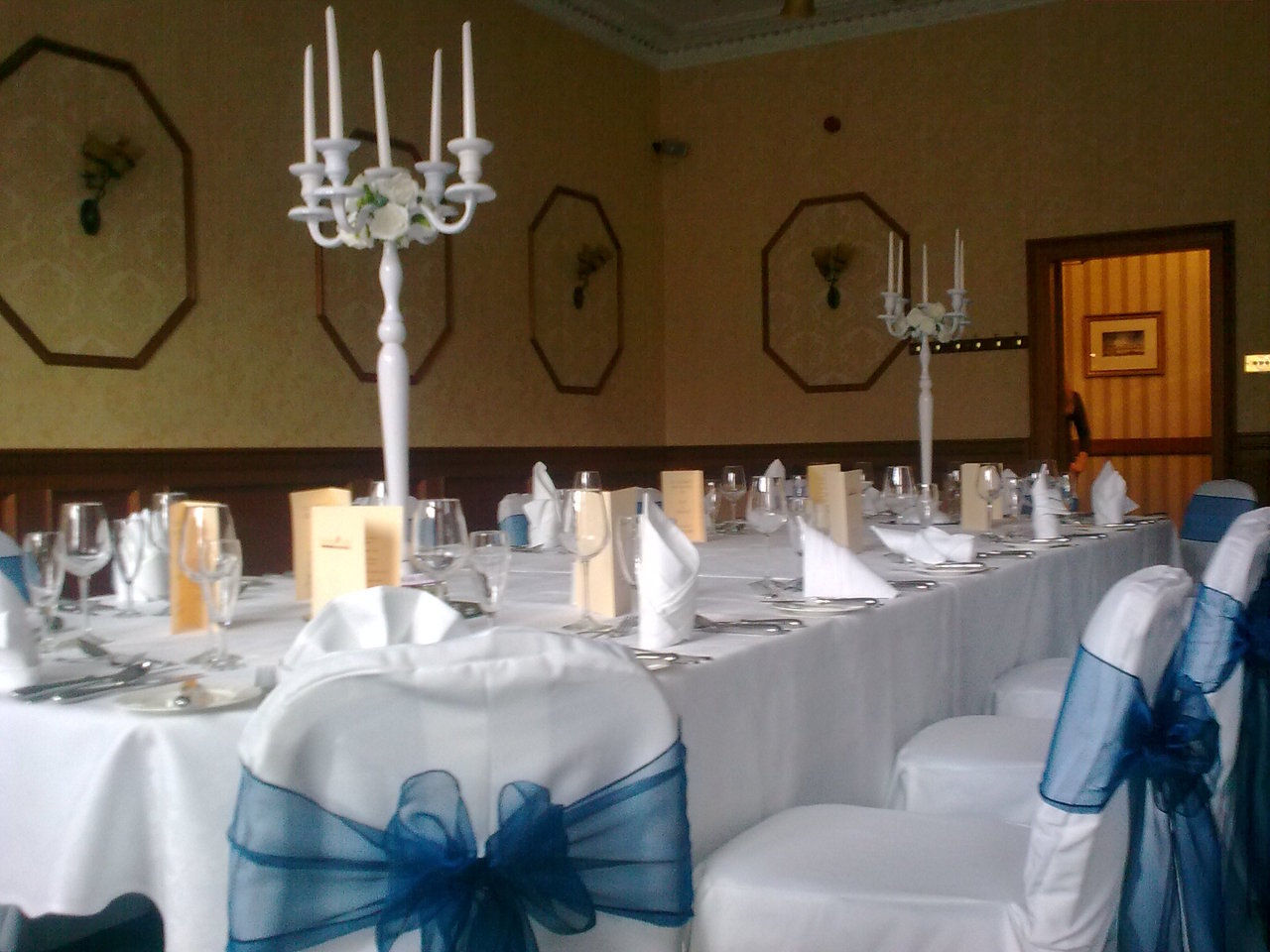 chair cover and sash hire glasgow cowhide dining room chairs with flair wedding events planning
