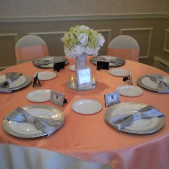Chair Cover Rentals Boston Ma Rustic Christmas Covers Distinctive Decor Peach And Ivory