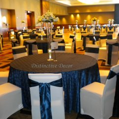 Chair Covers And Sashes Near Me Round Table With Chairs For Office Distinctive Decor Rentals White Cover