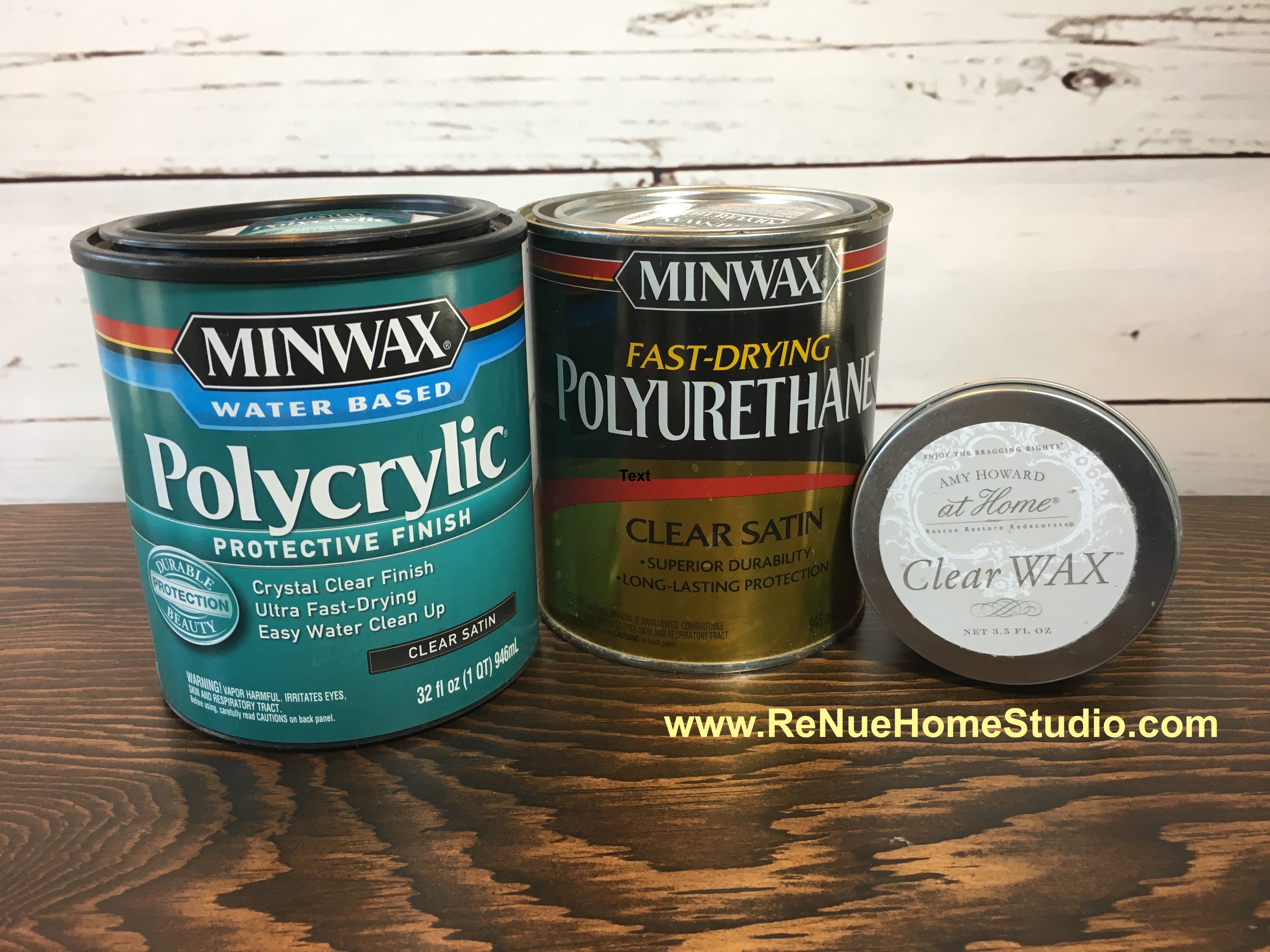Minwax Polycrylic Matte Vs Satin