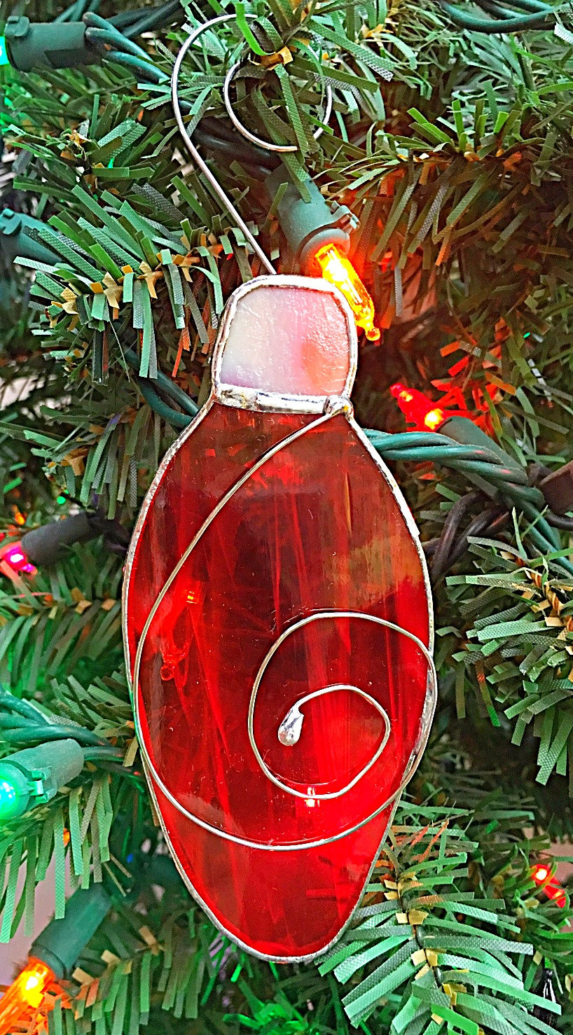 Christmas Tree Bulb Ornaments