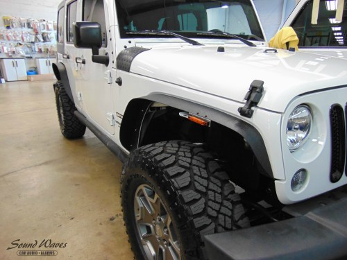 small resolution of we added factory door lock actuators and a viper keyless entry to this jeep our kits come with factory wire harnesses and plugs so there is no cutting or