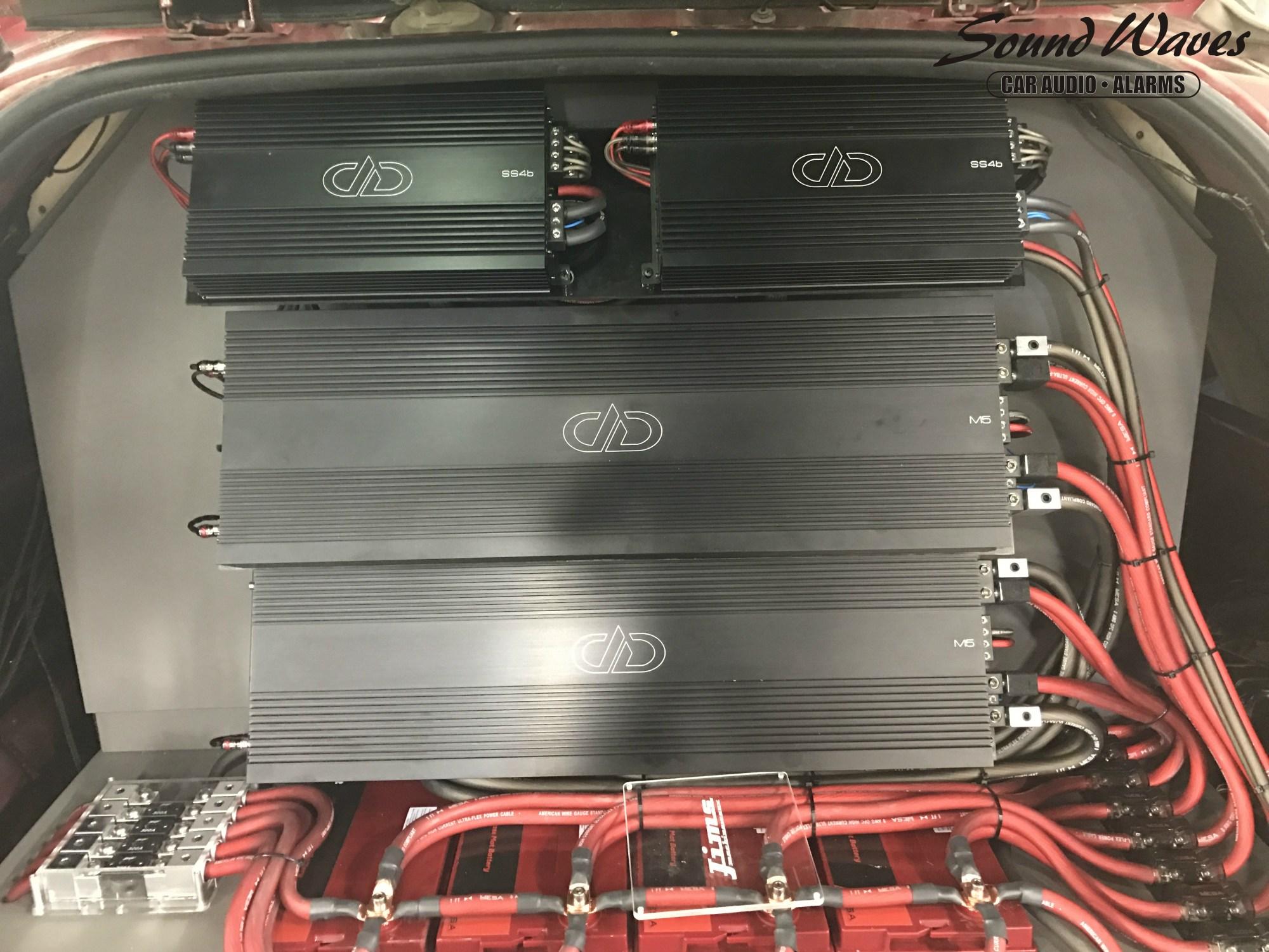 hight resolution of amp rack
