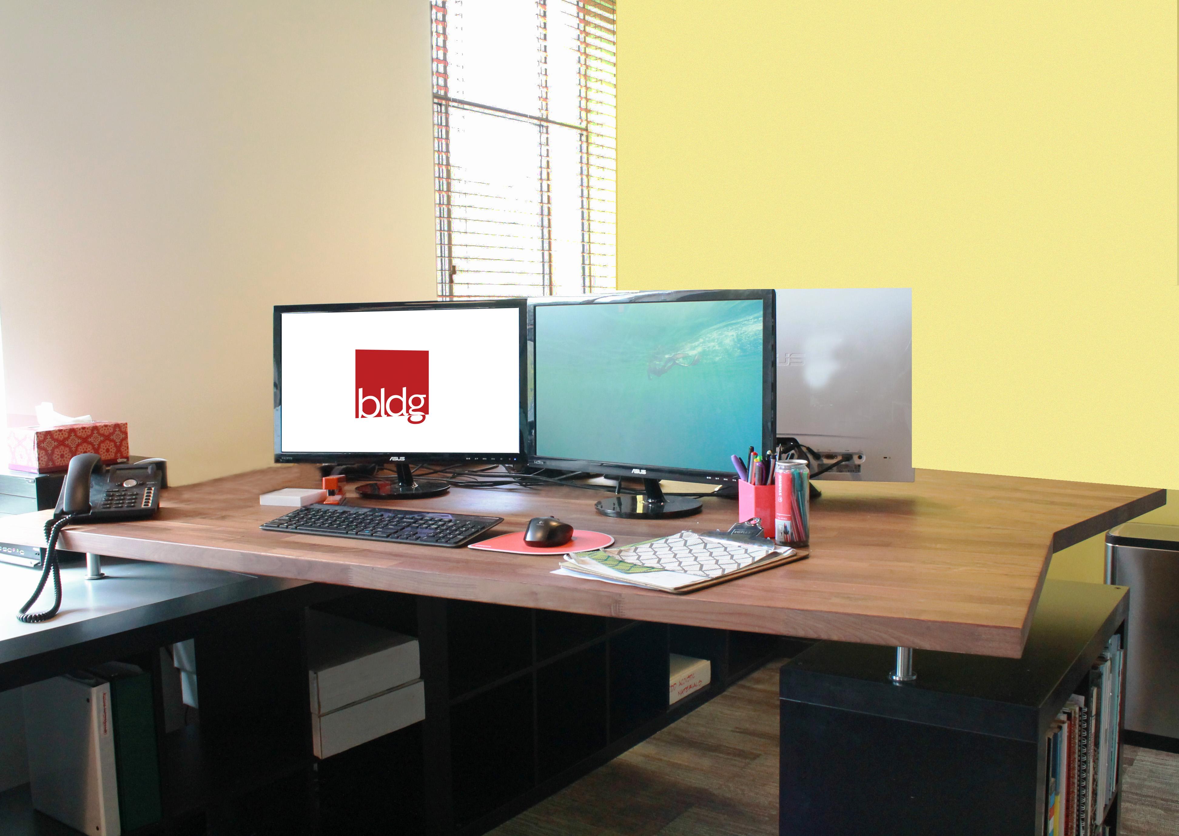 Office Desks Ikea Hack