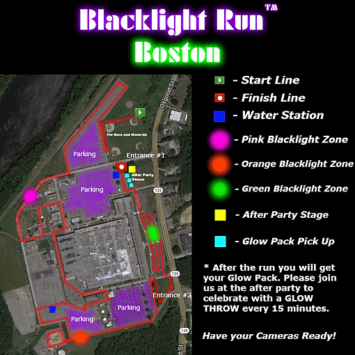 Blacklight Run, Fun Run