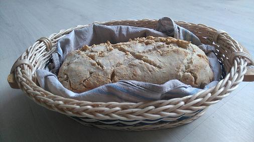 pain maison sésame flocons d'avoine farine eau lait levure