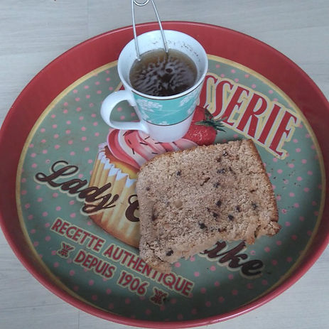 brioche gateau dimanche blog maman culinaire pépites chocolat délicieux dessert petit déjeuner brunch