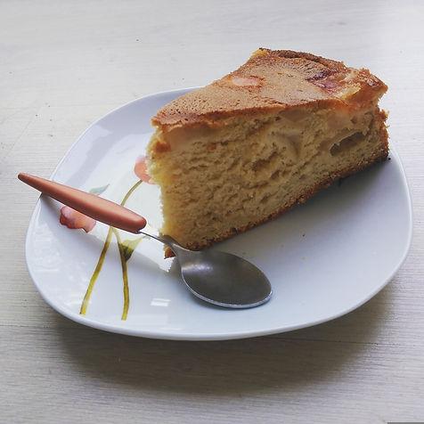 gâteau pommes farine oeufs sucre vanillé levure dessert délice