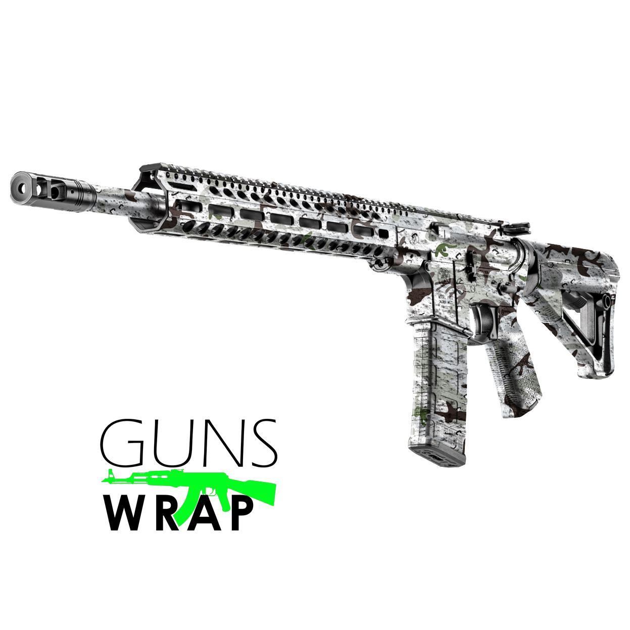 Ar 15 M4 Skin Combat 8