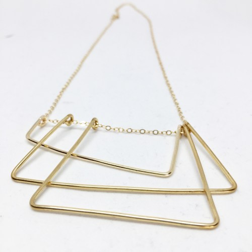 small resolution of boston city stairs wire necklace