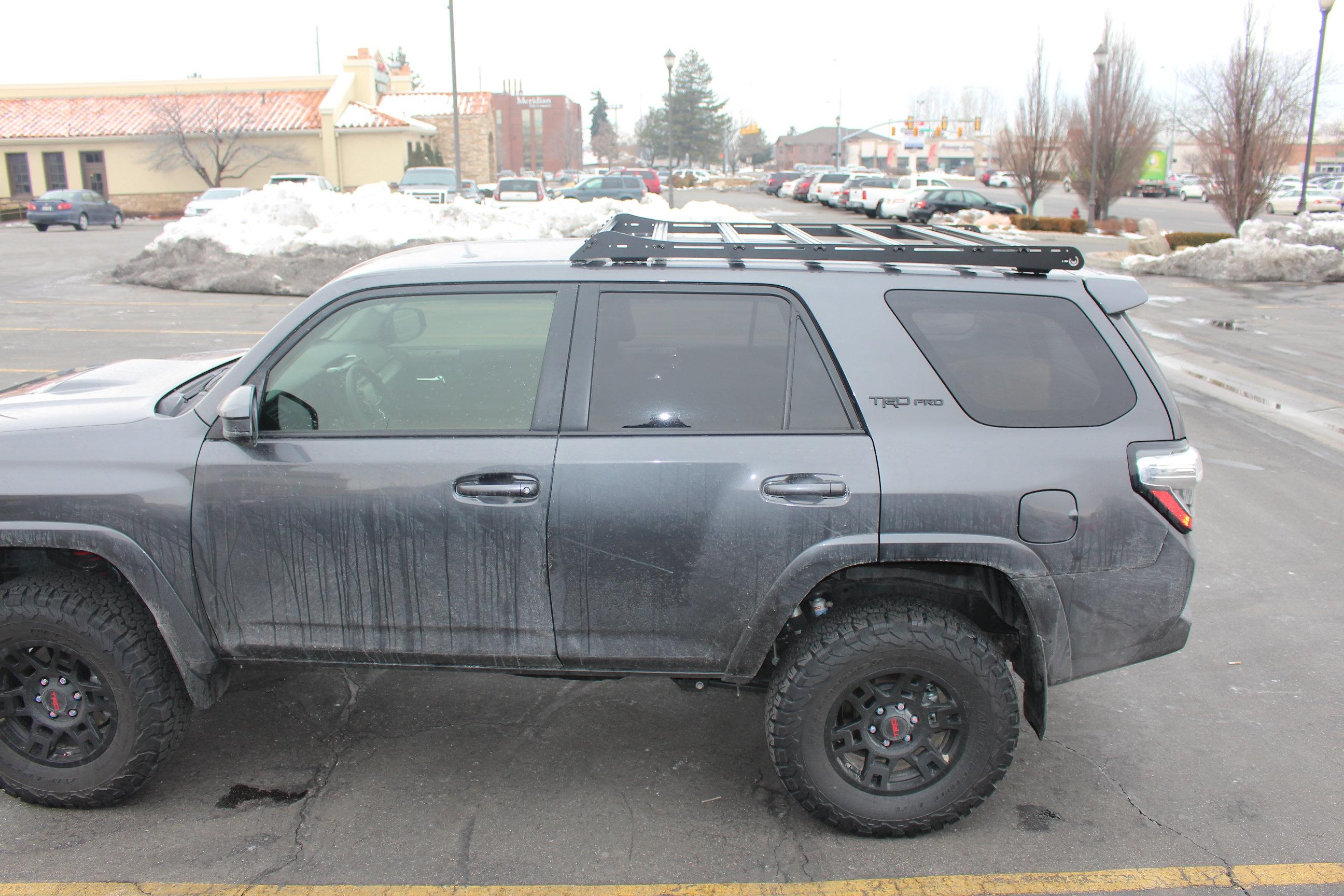 Toyota 4Runner Roof Rack Weight Capacity
