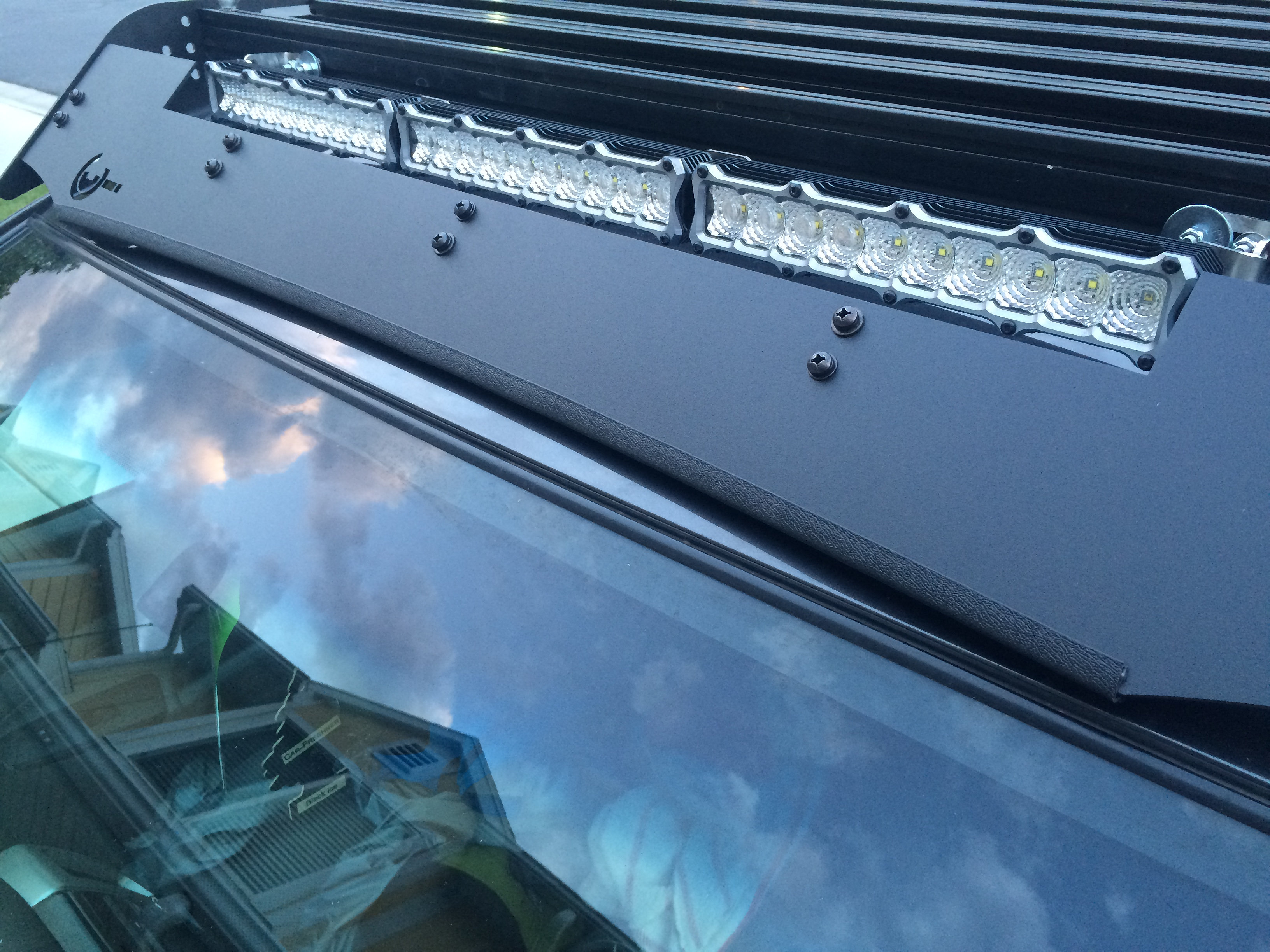 Roof Noise Reduction Rack