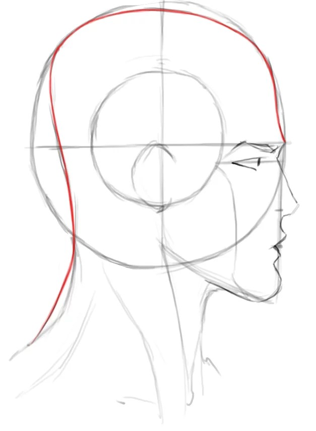 How To Draw A Hood Down : Heads, Profiles, Drawing