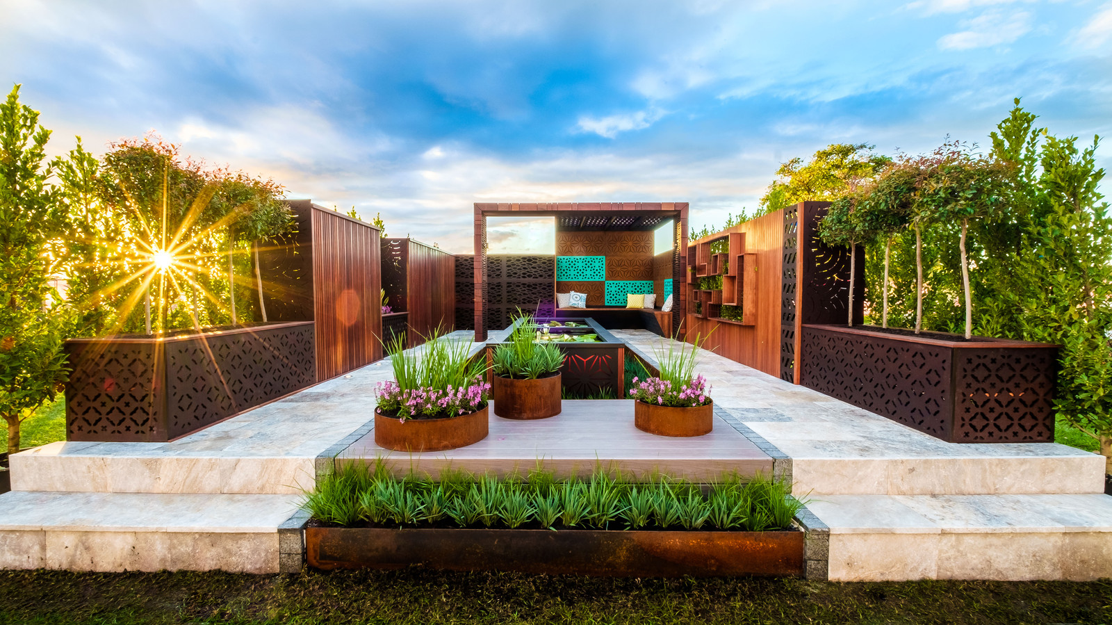 Landscaping Sunshine Coast, Outdoor Living, Lasercut Screens