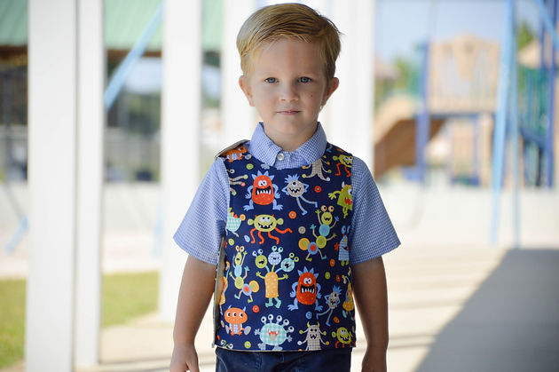 Sunflower Seams | Hastings Vest, Jilly Atlanta, PDF Sewing Patterns, Sewing for Boys, Boy, Vest, Vintage, Reversible, Spring, Summer, Fall, Winter, Back to School