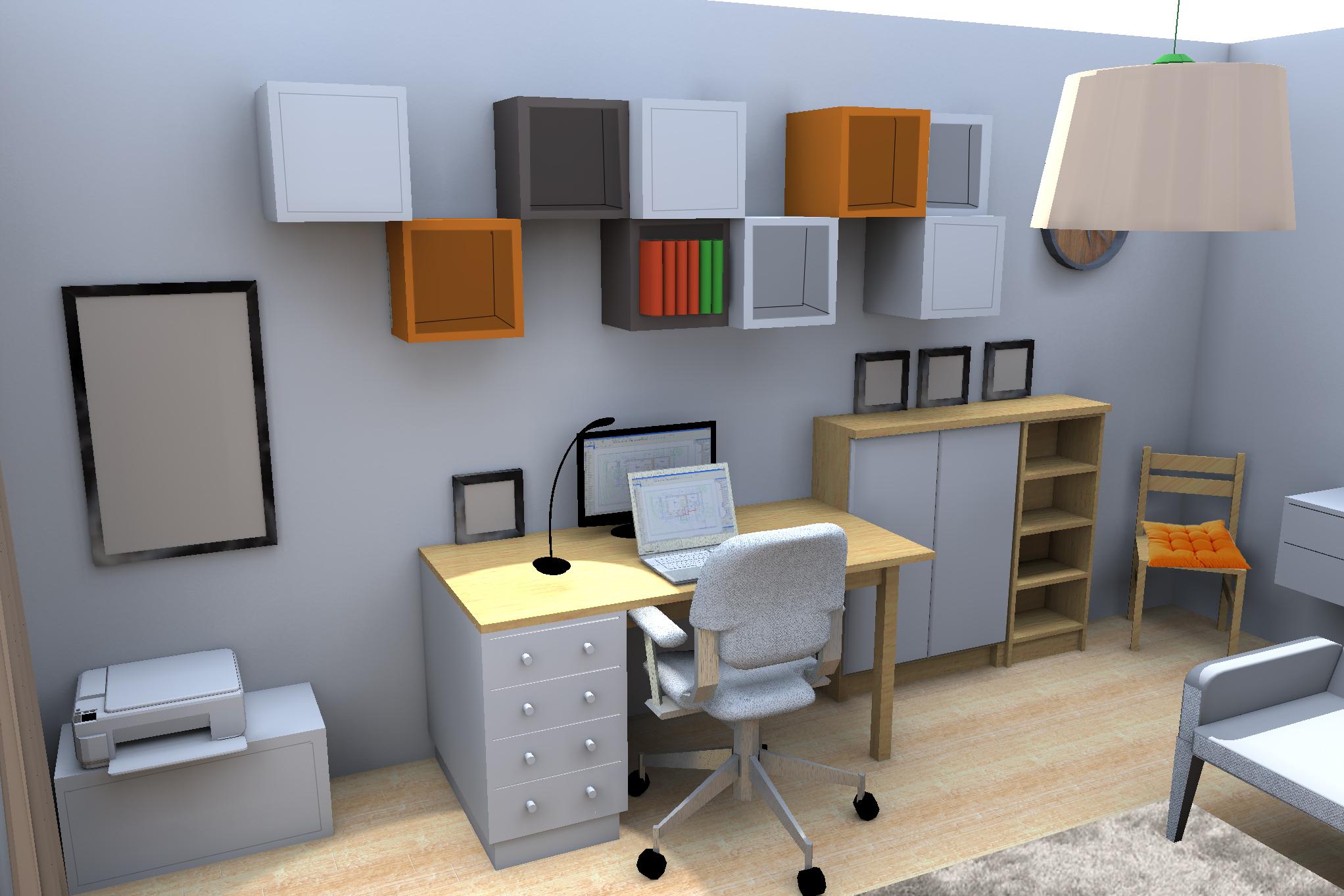 Salon Design D Interieur Bureau