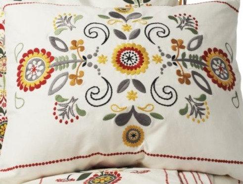 ikea akerkulla throw pillow cushion cover chickadeevintage