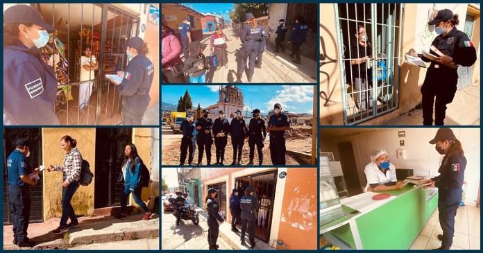Inician jornadas de prevención del delito en San Cristóbal de Las Casas