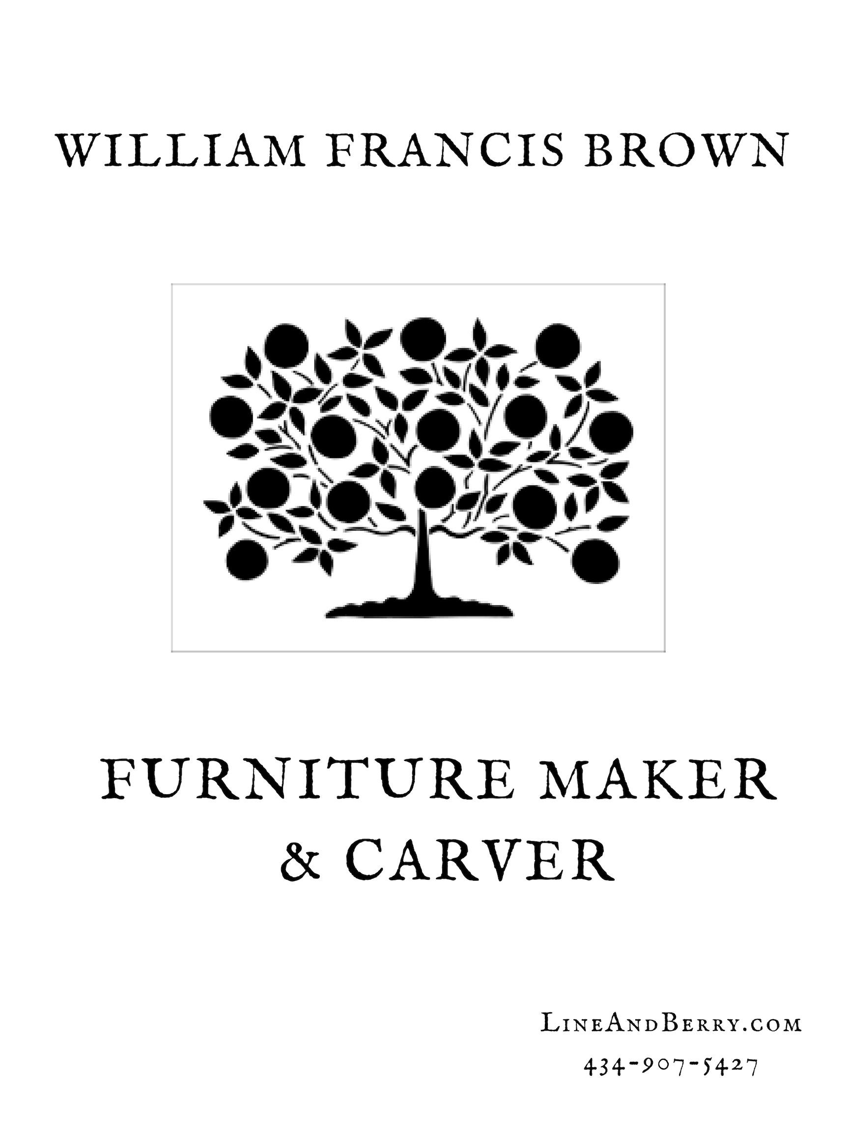 William Francis Brown|LineAndBerry.com|Fine Furniture