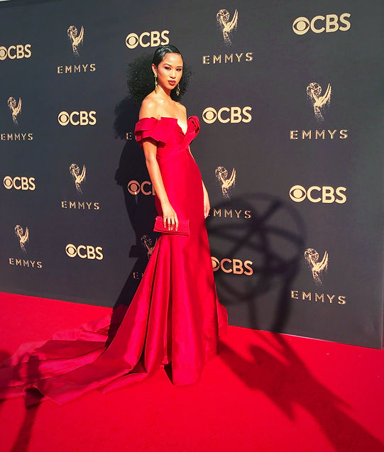 Christina Cooper At Emmy Awards