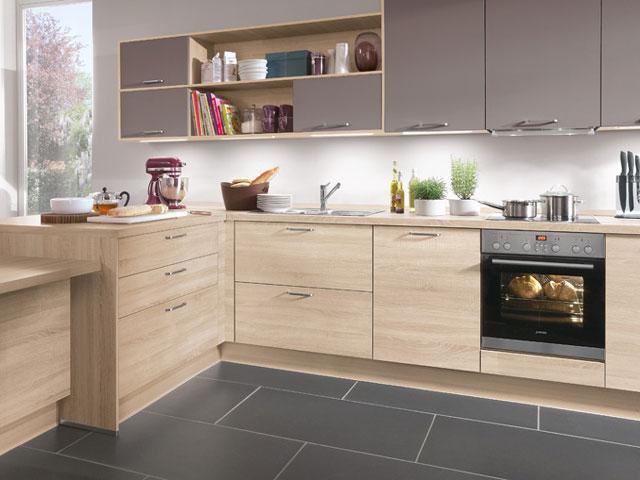Cocinas formica imitacion madera  Materiales para la