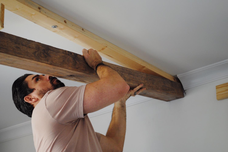 Faux Ceiling Beams Diy  Review Home Decor