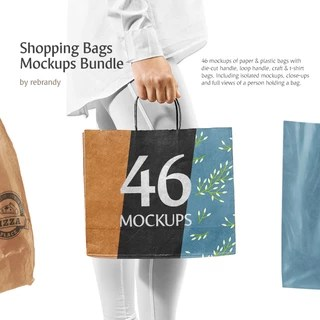 784+ carry bag mockup psd free download. Shopping Bags Mockups Bundle Mock Up By Rebrandy For Photoshop Purchase Download And Use