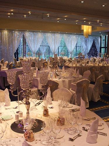 Lough Rynn Castle Mohill Co Leitrim Wedding Decorations