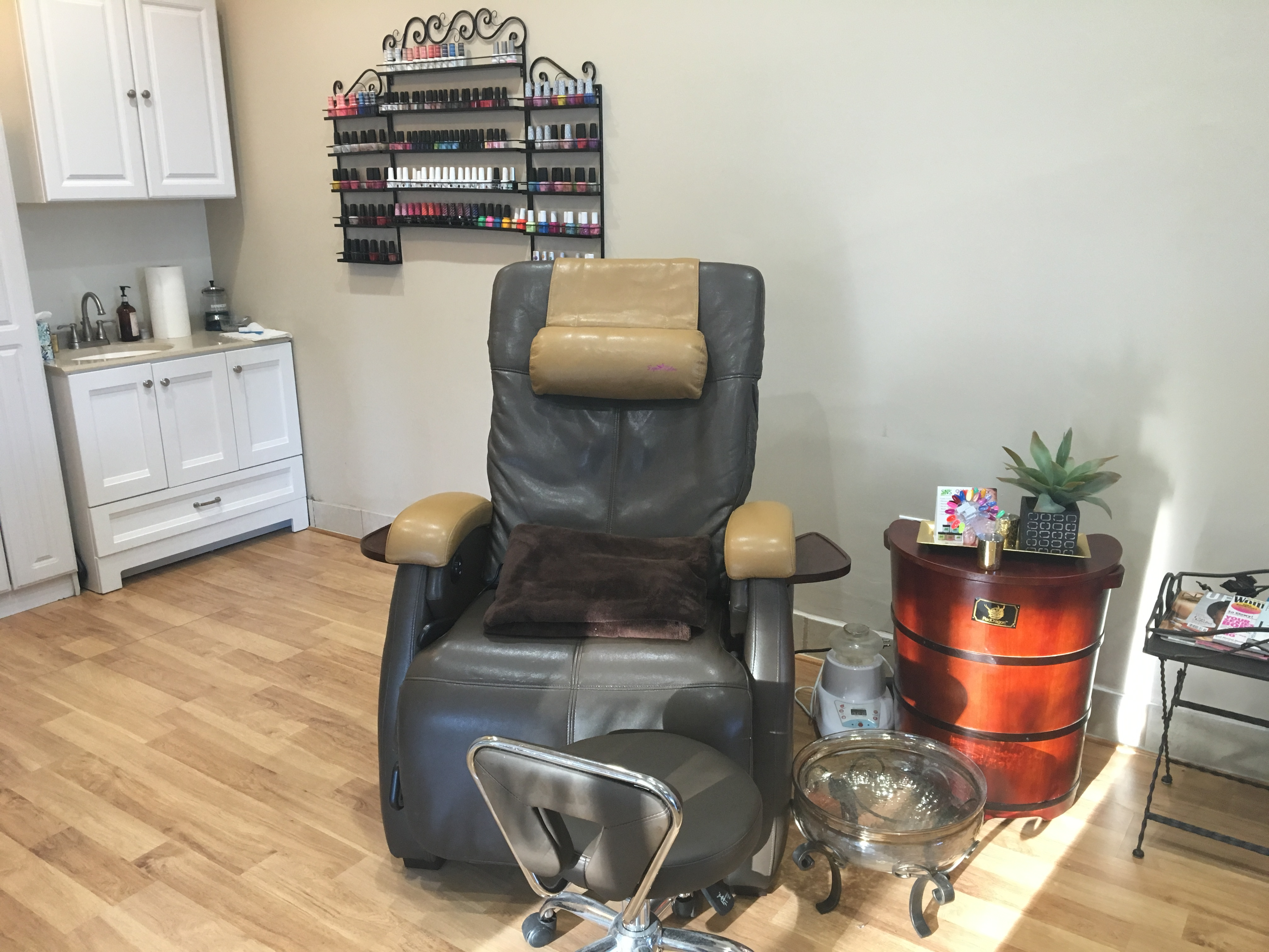 top rated pedicure chairs ergonomic chair attachment the waterless zero gravity steam hair salon nail day spa in fairfax for 15 years