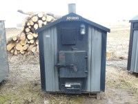 Used Heatmaster SS MF5000 Outdoor Wood Furnace