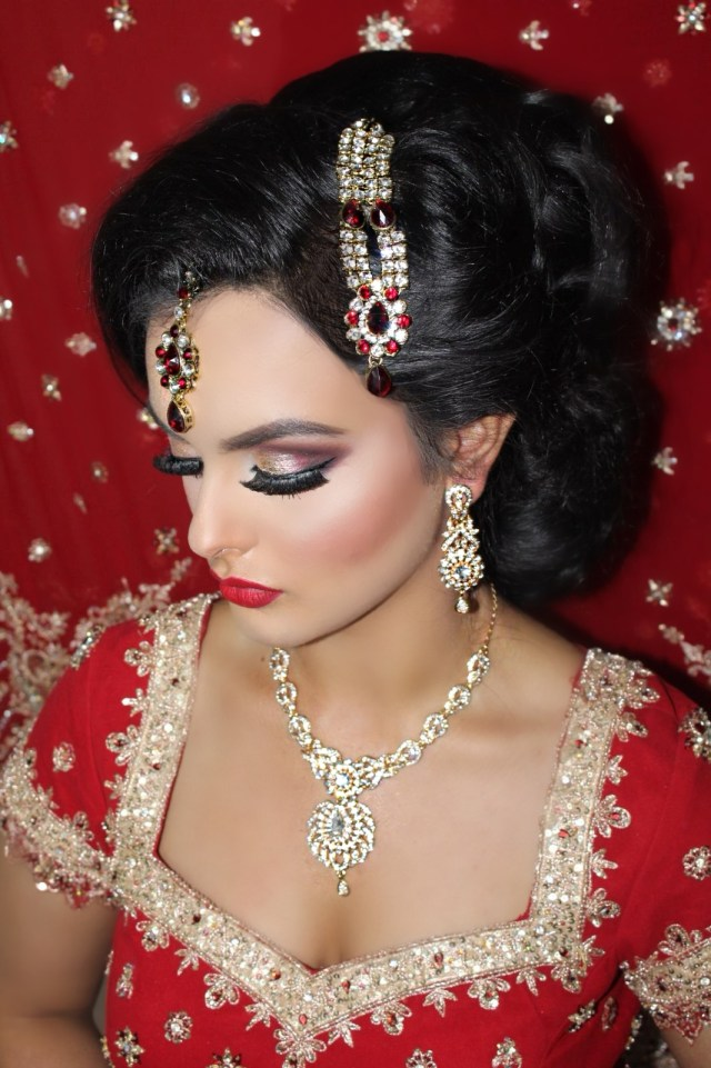 luxury bridal hair and make-up artists | bradford