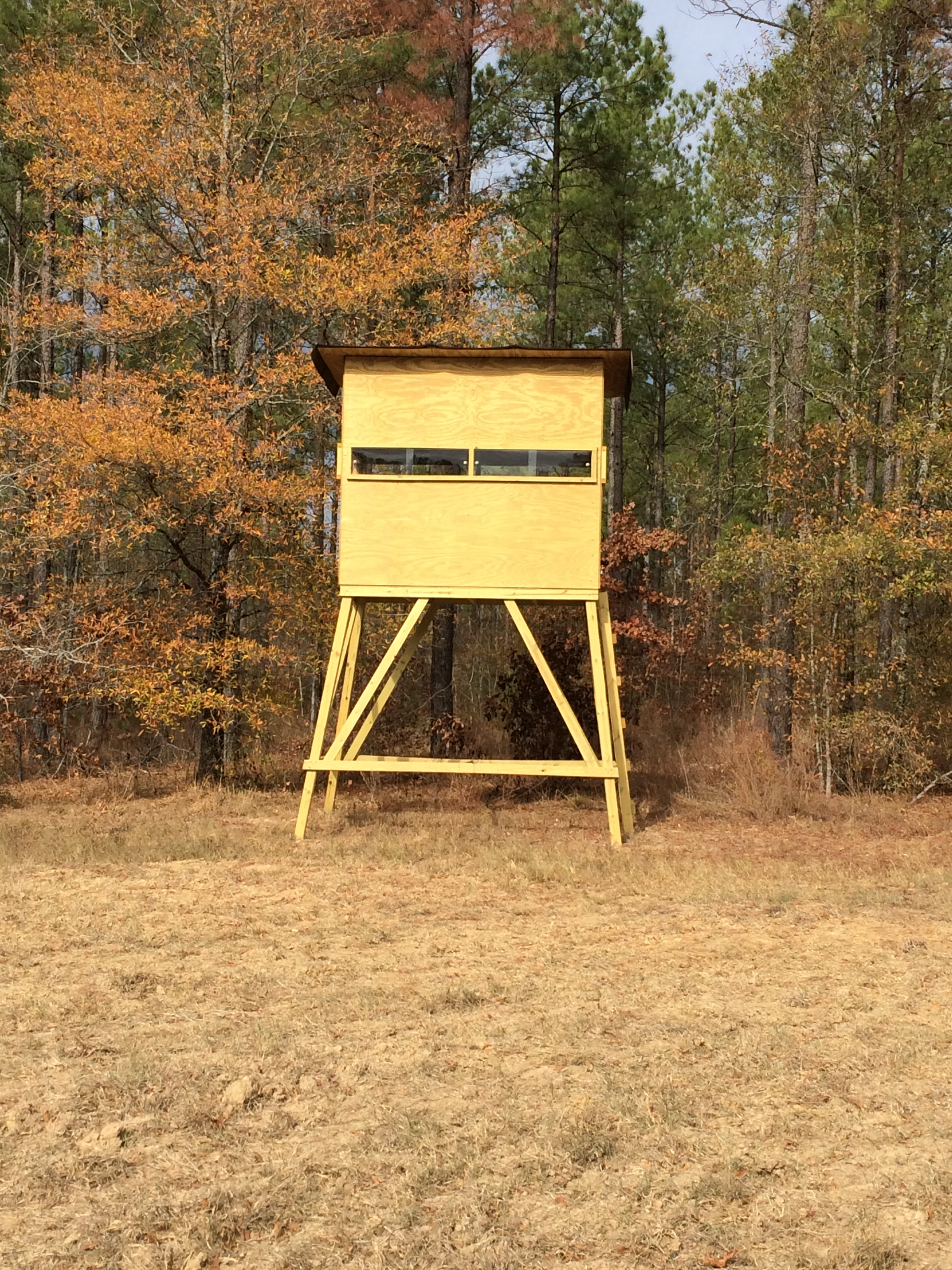 high chair deer stand dining covers ikea uk adams stands amore comfortable hunting experience we customize each from wood selection paint color windows height and many more options all are built to order offer