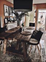 Esszimmer   Massiver Holztisch von Massivmoebel24