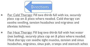 directions for using ice bag