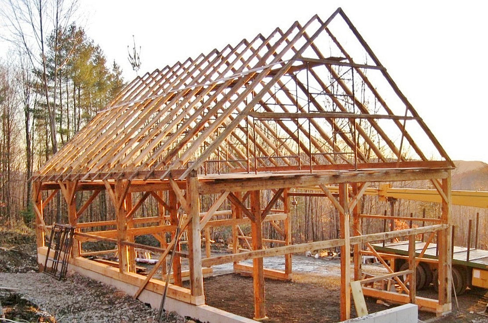 Green Mountain Timber Frames Vermont Barn Homes